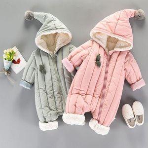 Other - Warm Hooded Jumpsuit Jacket set